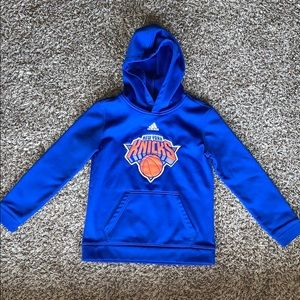 Adidas New York Knicks NBA Basketball Hoodie